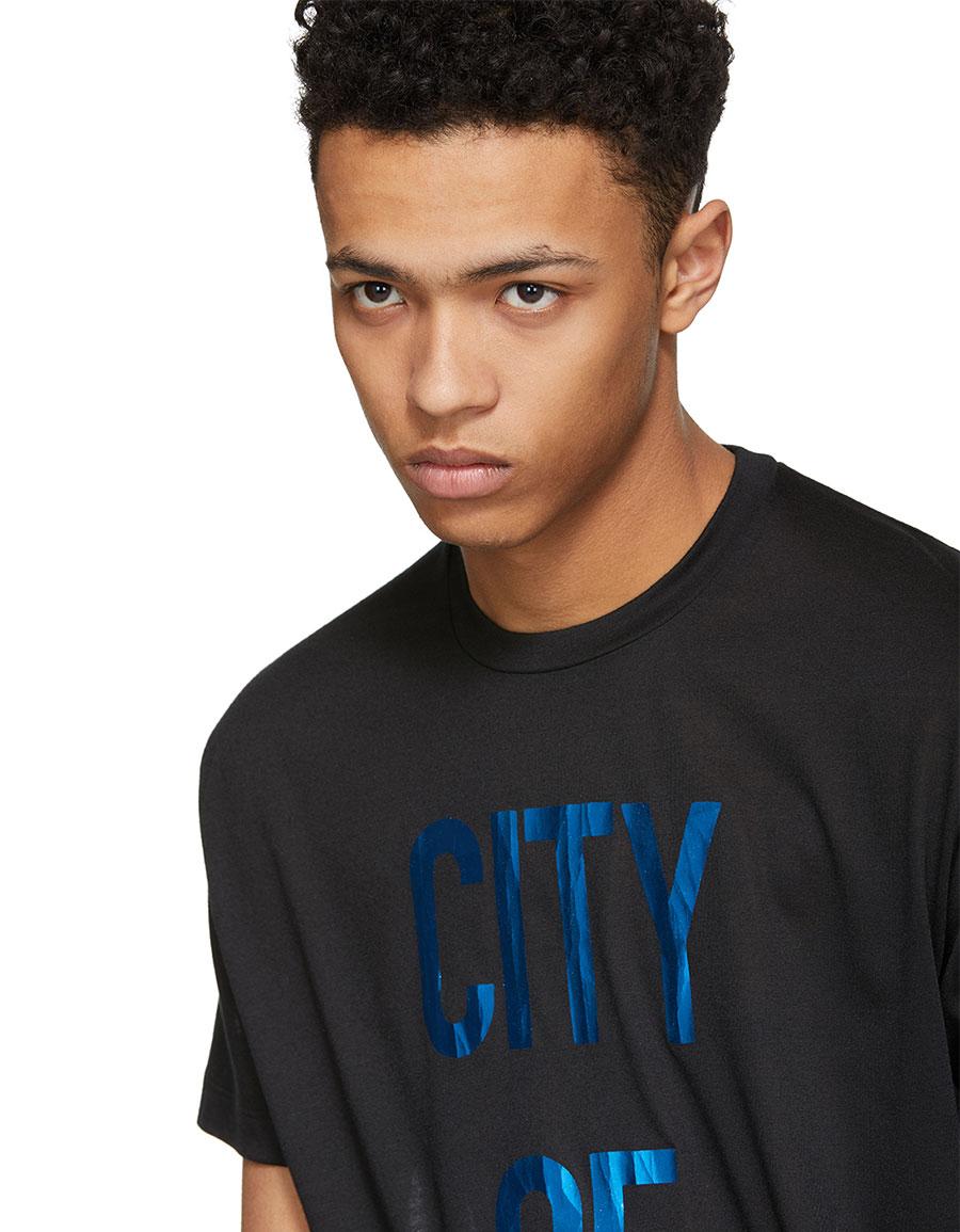 DSQUARED2 Black 'City Of Stars' 50's Rock T Shirt