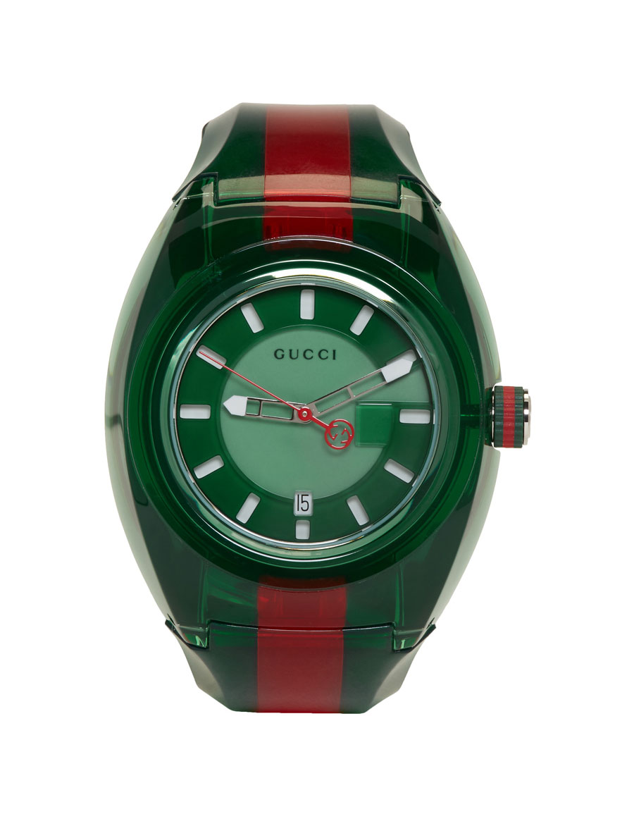 GUCCI Green G Sync Watch