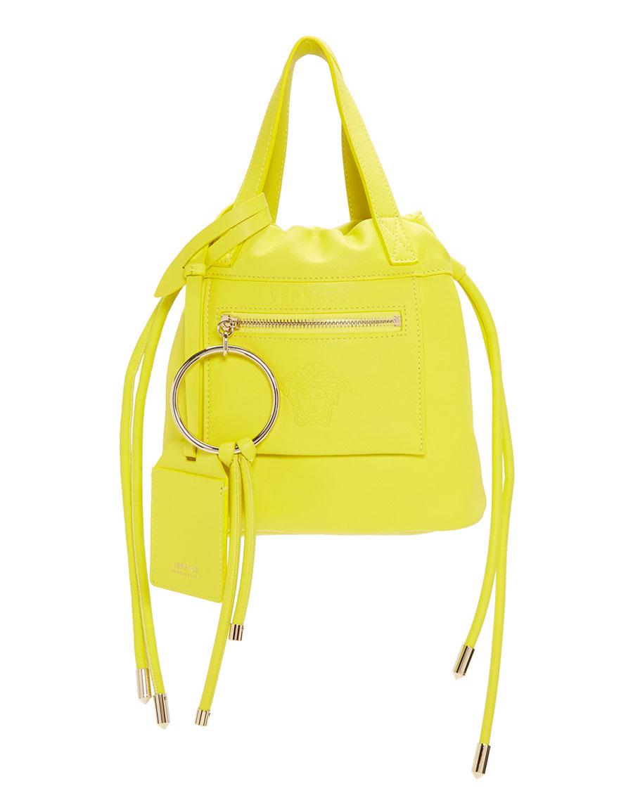 VERSACE Yellow Small Daydreamer Drawstring Bag