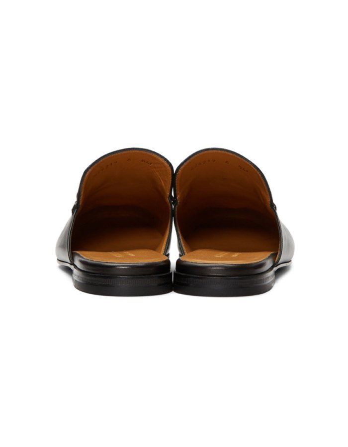 GUCCI Black Kings Slip On Loafers