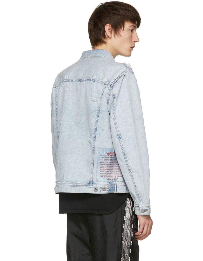 DIESEL Blue N Hill Denim Jacket