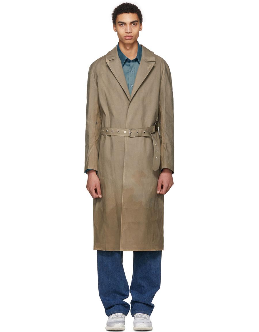ALYX Beige Mackintosh Edition Formal Coat