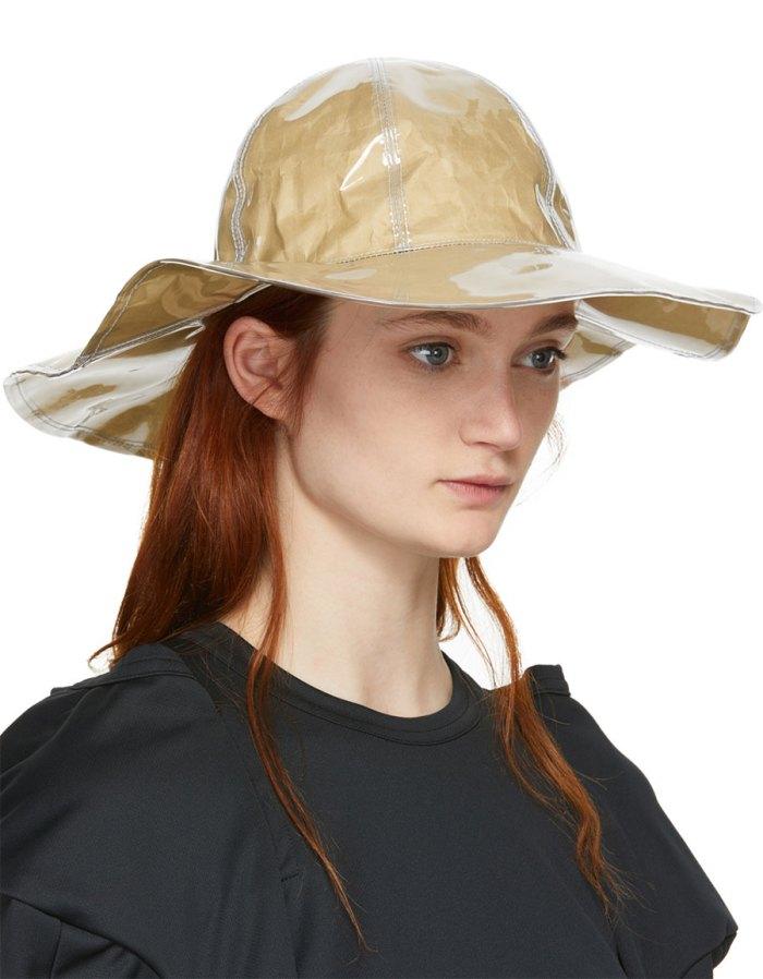 COMME DES GARÇONS Shirt Beige Shirt Bucket Hat