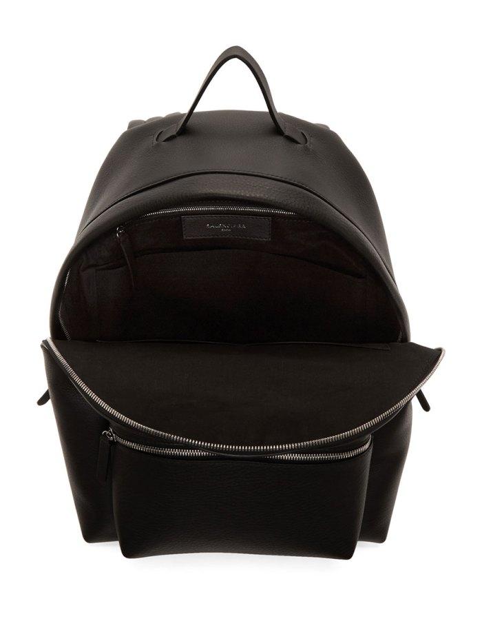 BALENCIAGA Black Logo Everyday Backpack