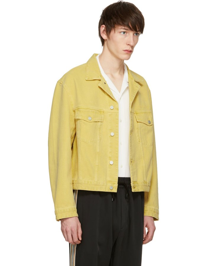 CMMN SWDN Yellow Denim Boris Jacket