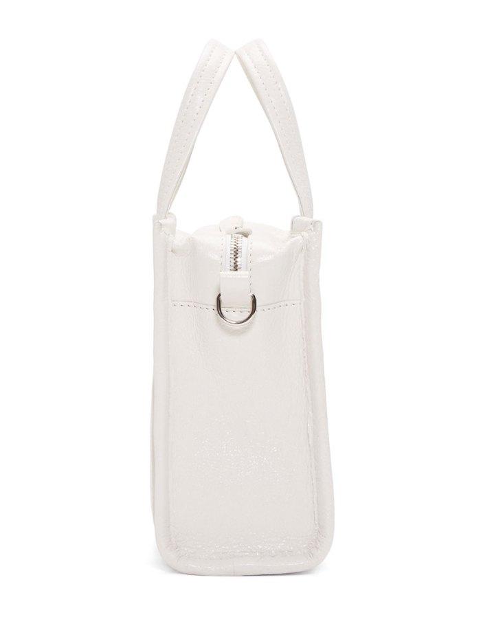 BALENCIAGA White XXS Bazar Shopper Tote