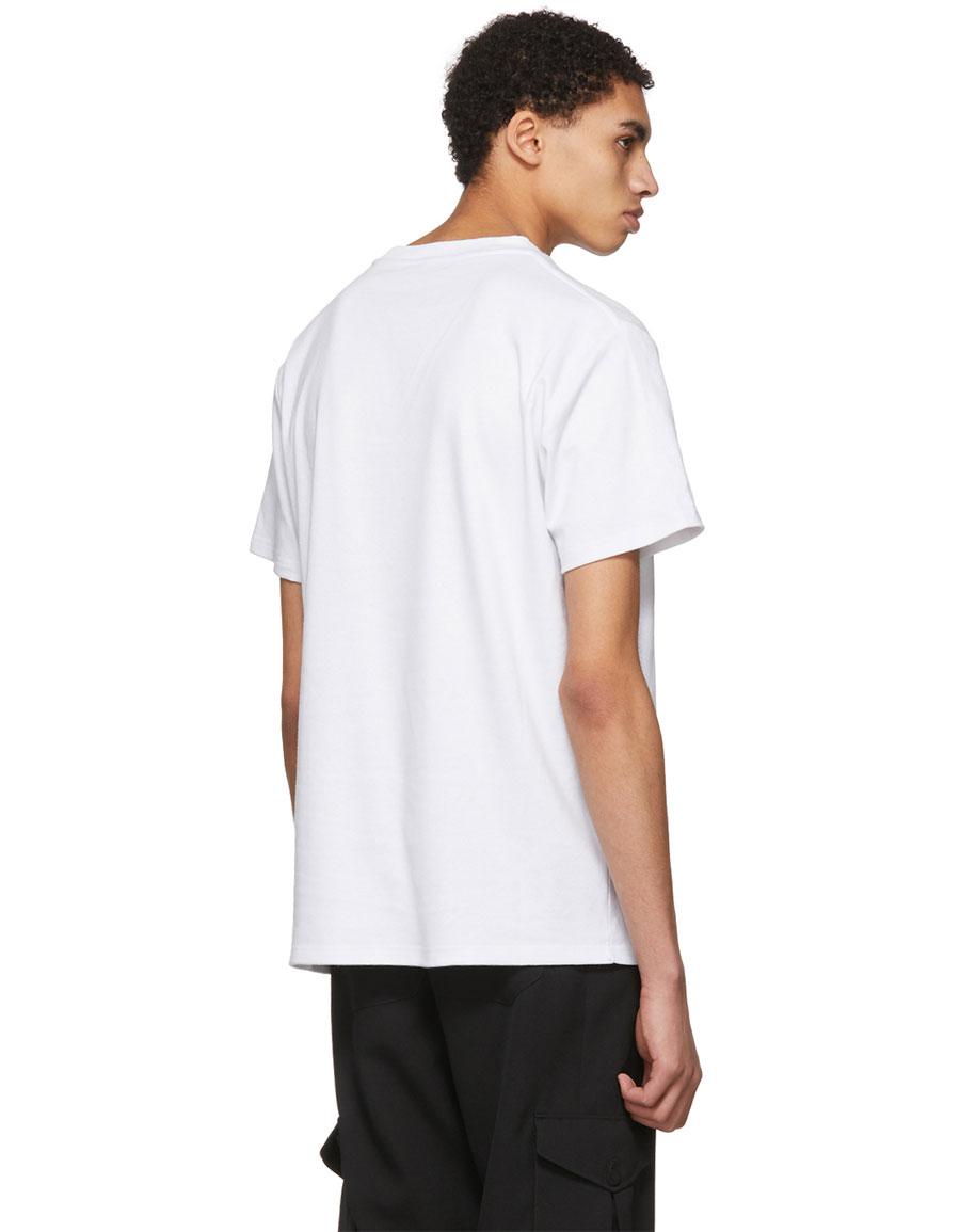 ALYX White 'One Race' T Shirt