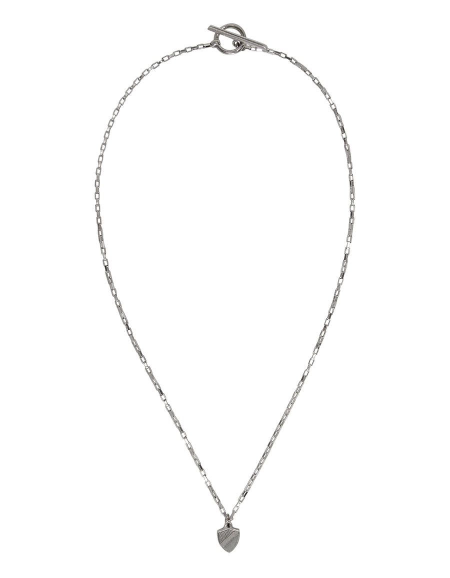 OAMC Silver Crest Necklace