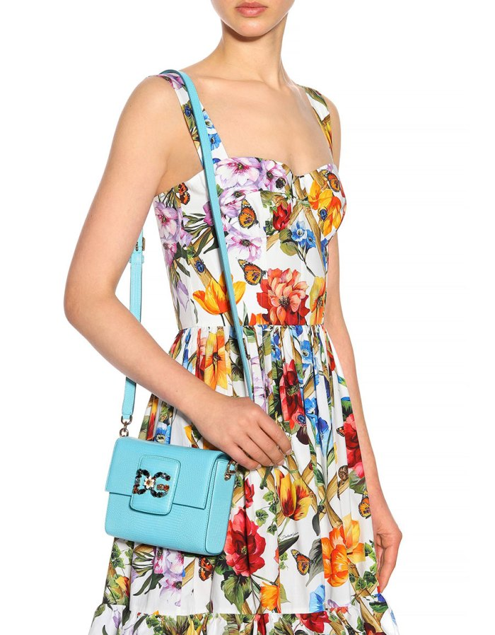 DOLCE & GABBANA DG Millennials Mini leather shoulder bag