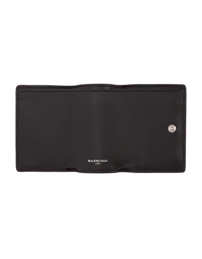 BALENCIAGA Black Everyday Mini Wallet
