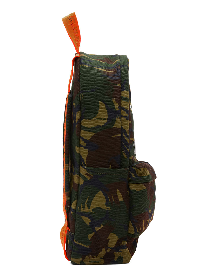 OFF WHITE Multicolour Camouflage Backpack