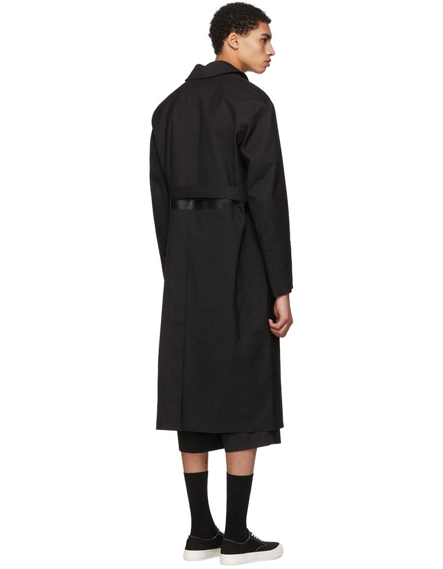 ALYX Black Mackintosh Edition Formal Coat