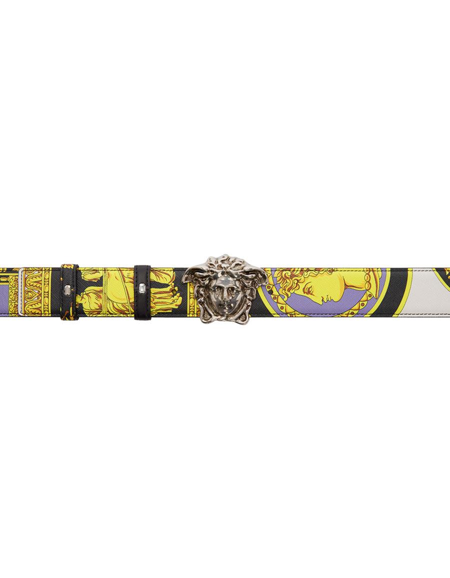 VERSACE Multicolor Medusa Head Belt