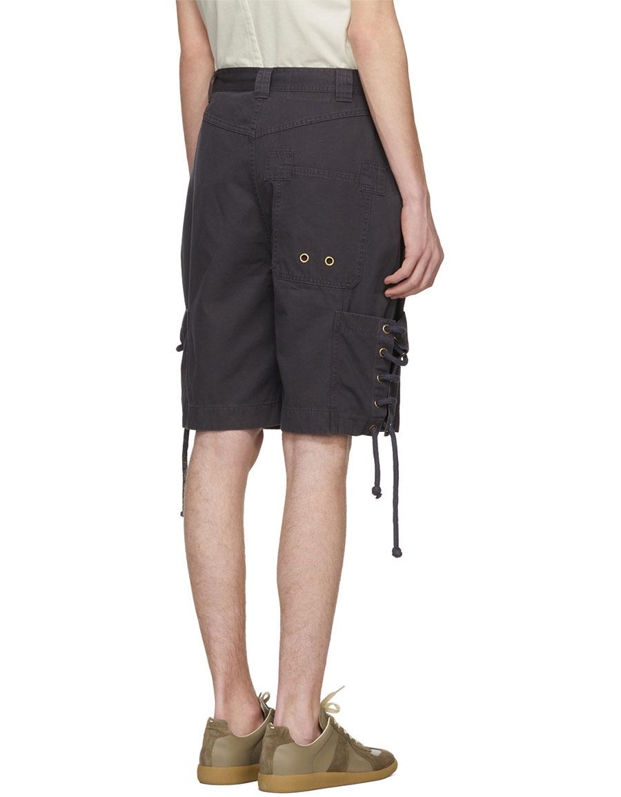 ACNE STUDIOS Black Kling Shorts