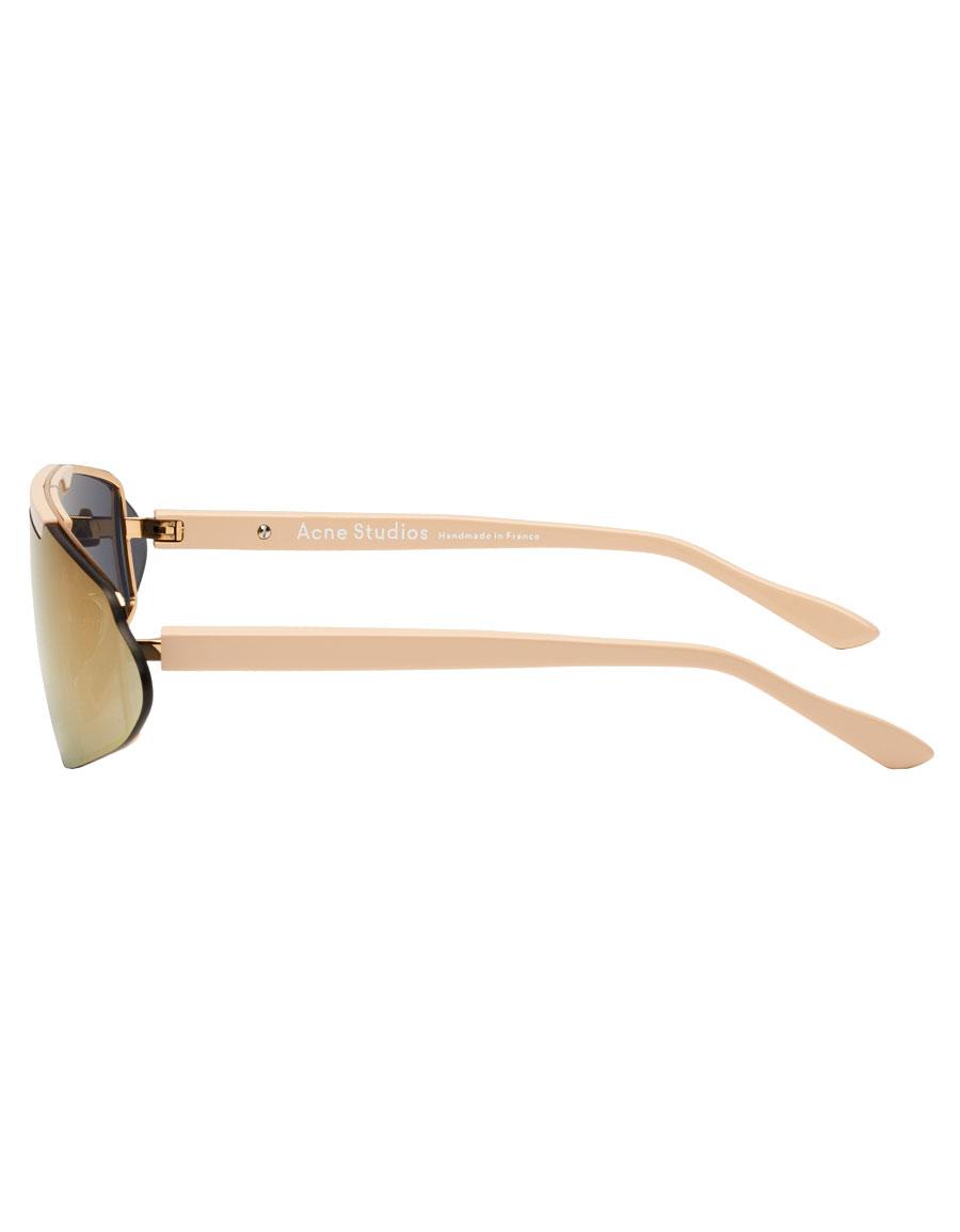 ACNE STUDIOS Pink Bornt Sunglasses