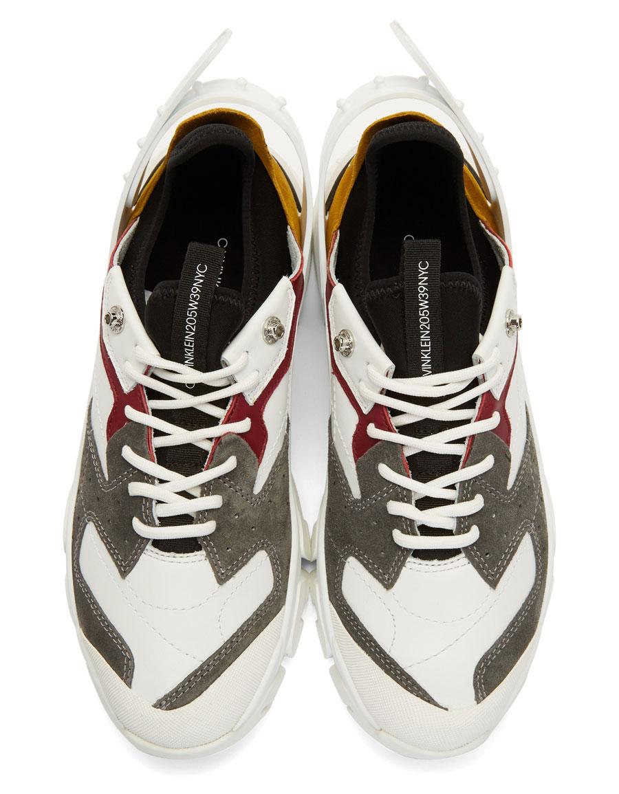 CALVIN KLEIN Multicolor Carlos 10 Sneakers