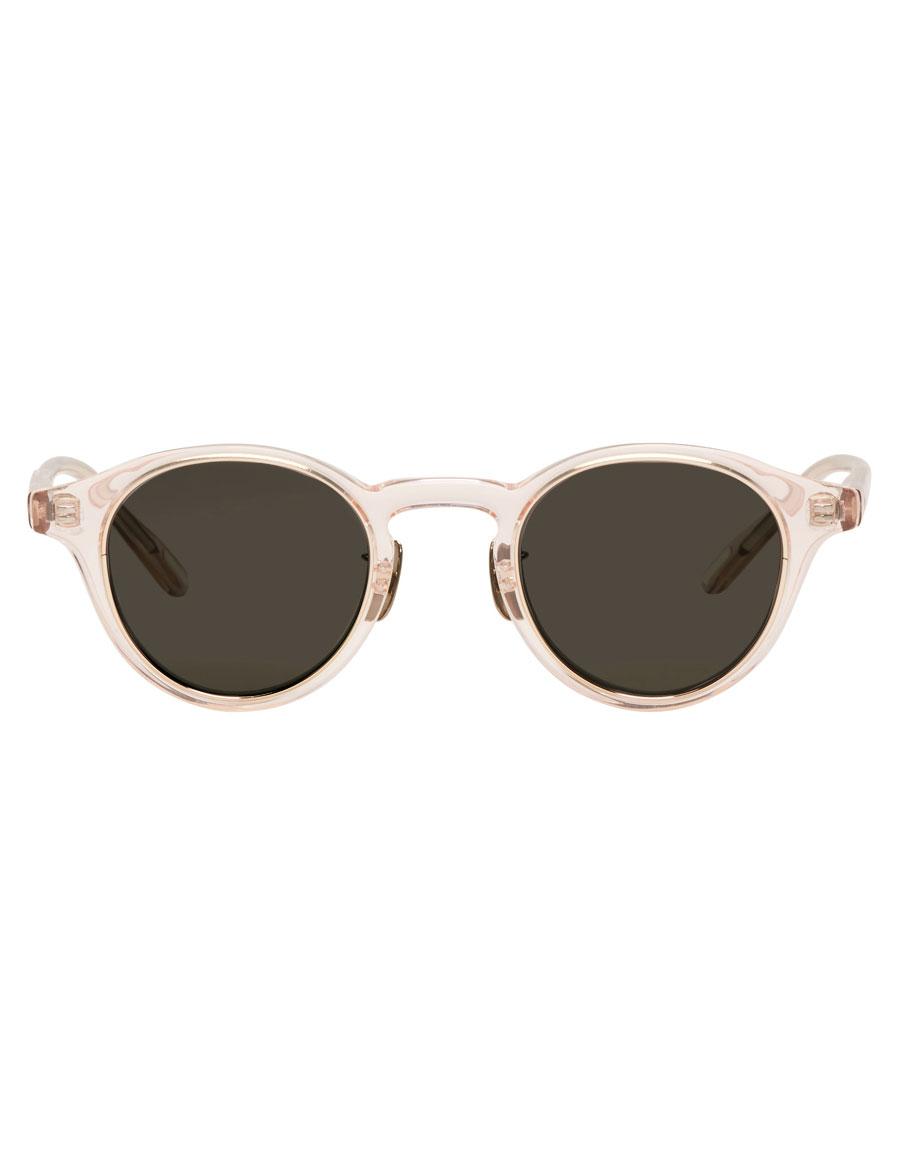 YUICHI TOYAMA Pink ZRH Round Sunglasses