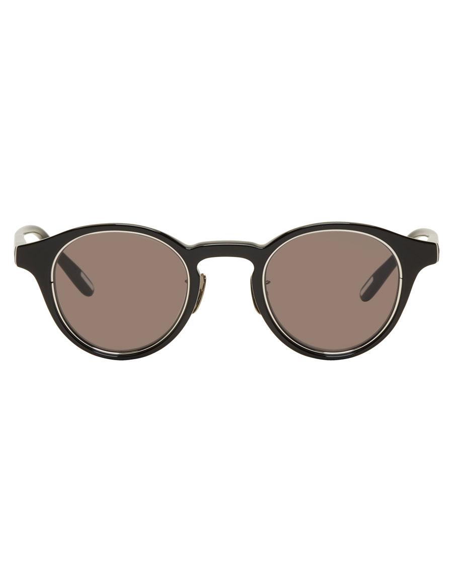 YUICHI TOYAMA Black ZRH Round Sunglasses