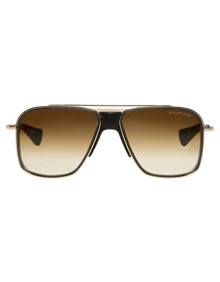 DITA Gold & Black Initiator Sunglasses