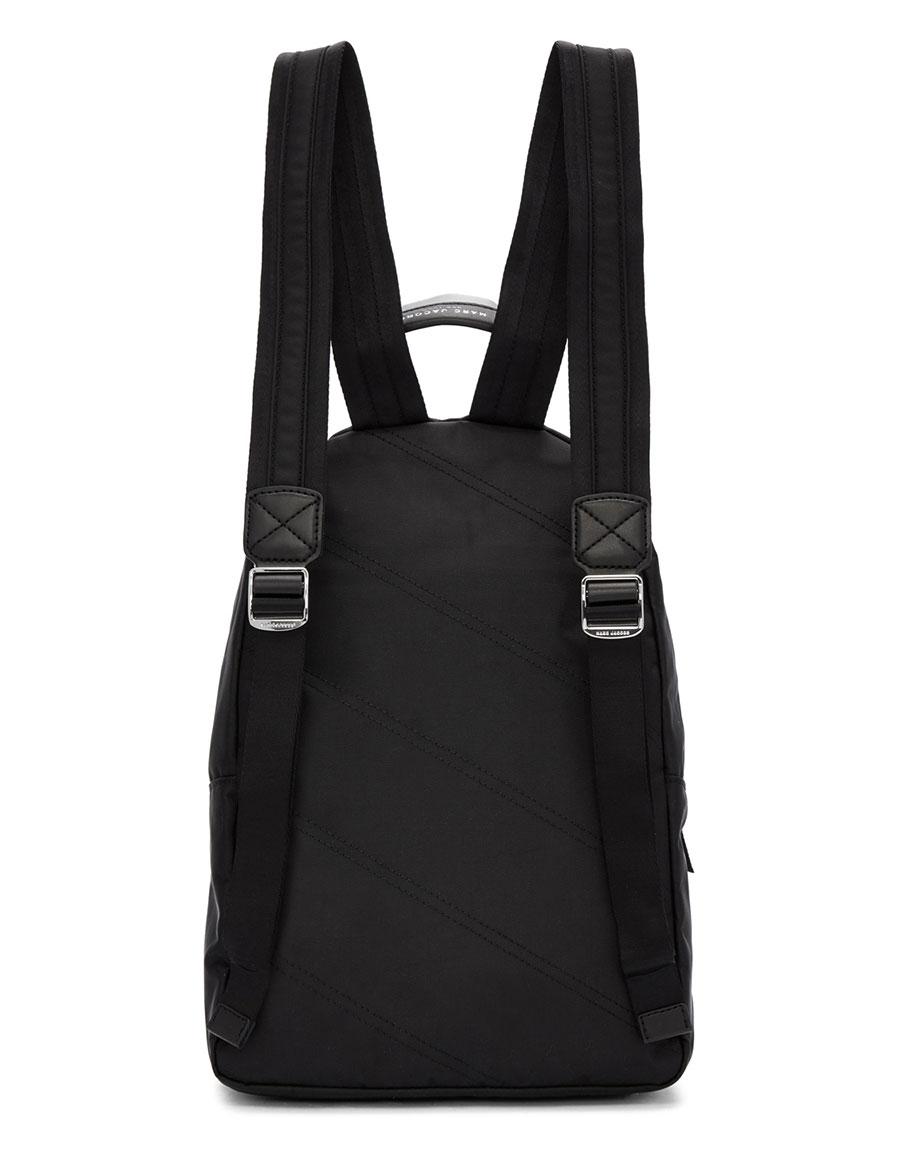 MARC JACOBS Black Medium Backpack