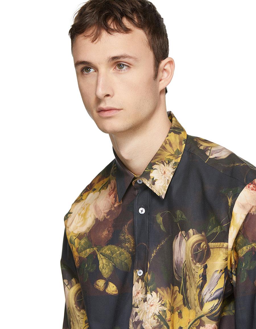ALEXANDER MCQUEEN Multicolor Dutch Master Shields Shirt