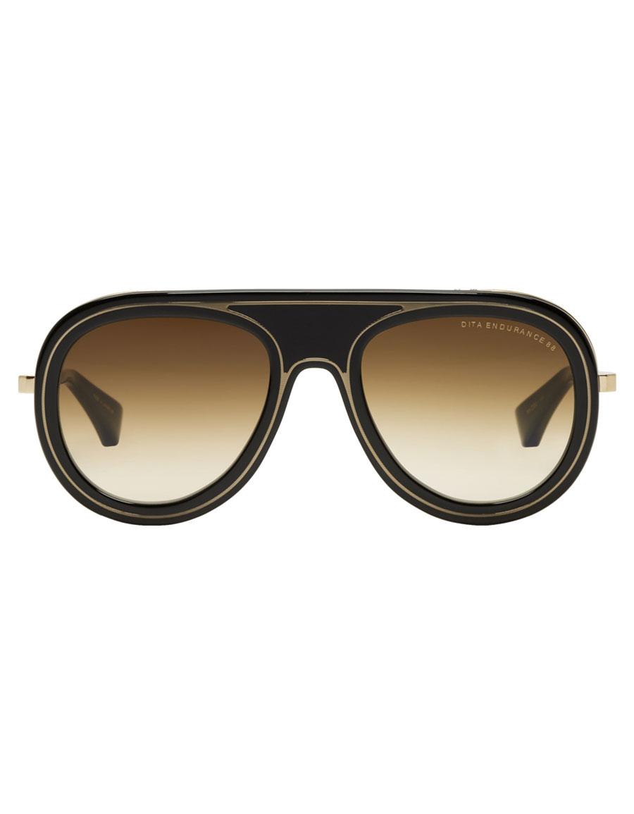 DITA Black & Gold Endurance 88 Sunglasses