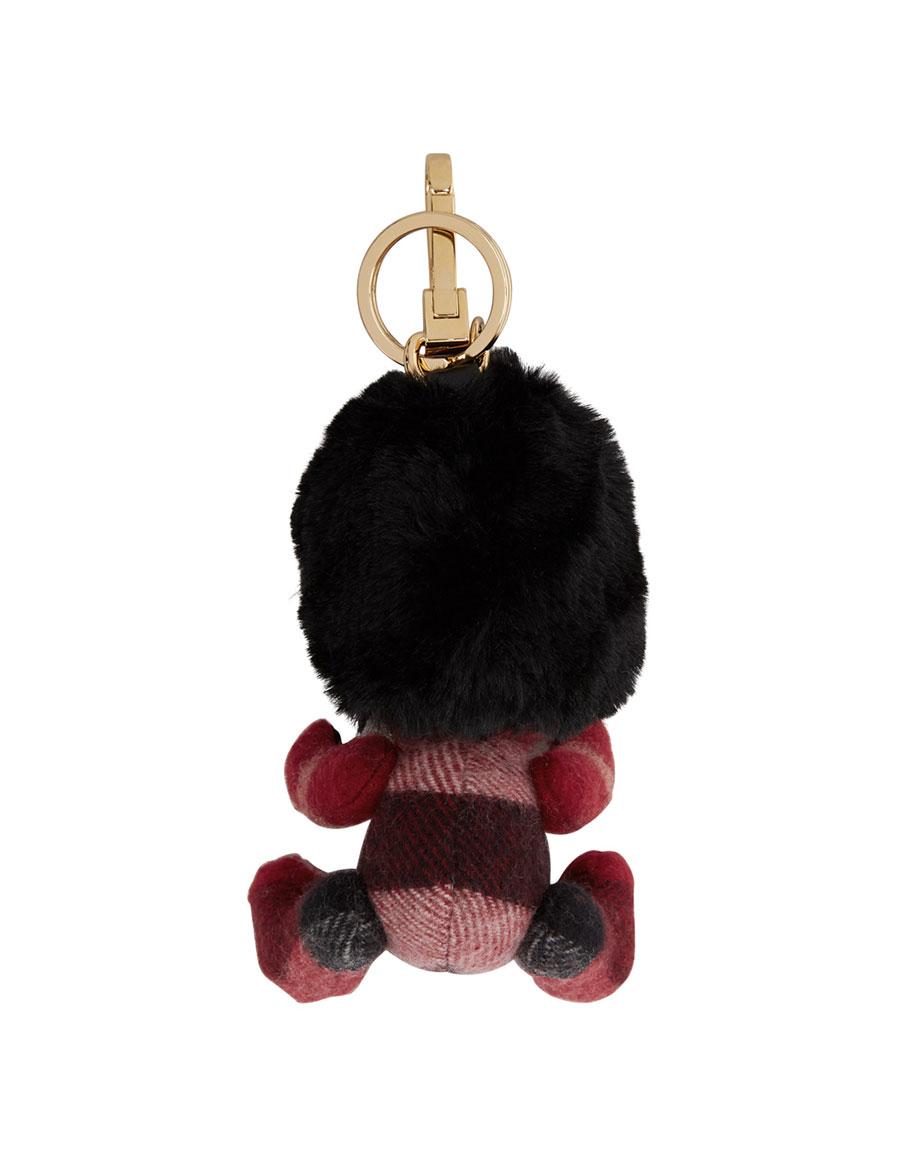BURBERRY Red Thomas Busby Keychain