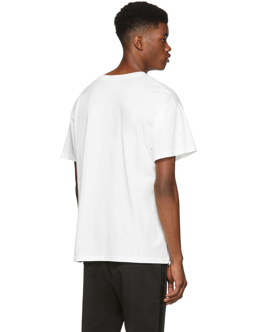 MOSCHINO White Teddy Bear T Shirt