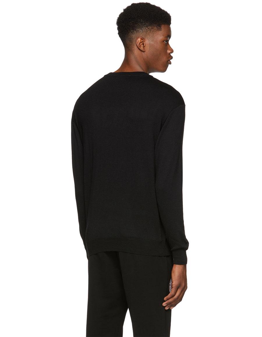 MOSCHINO Black 'Couture!' Crewneck Sweater