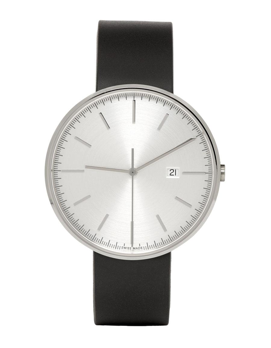 UNIFORM WARES Black Rubber M40 Watch