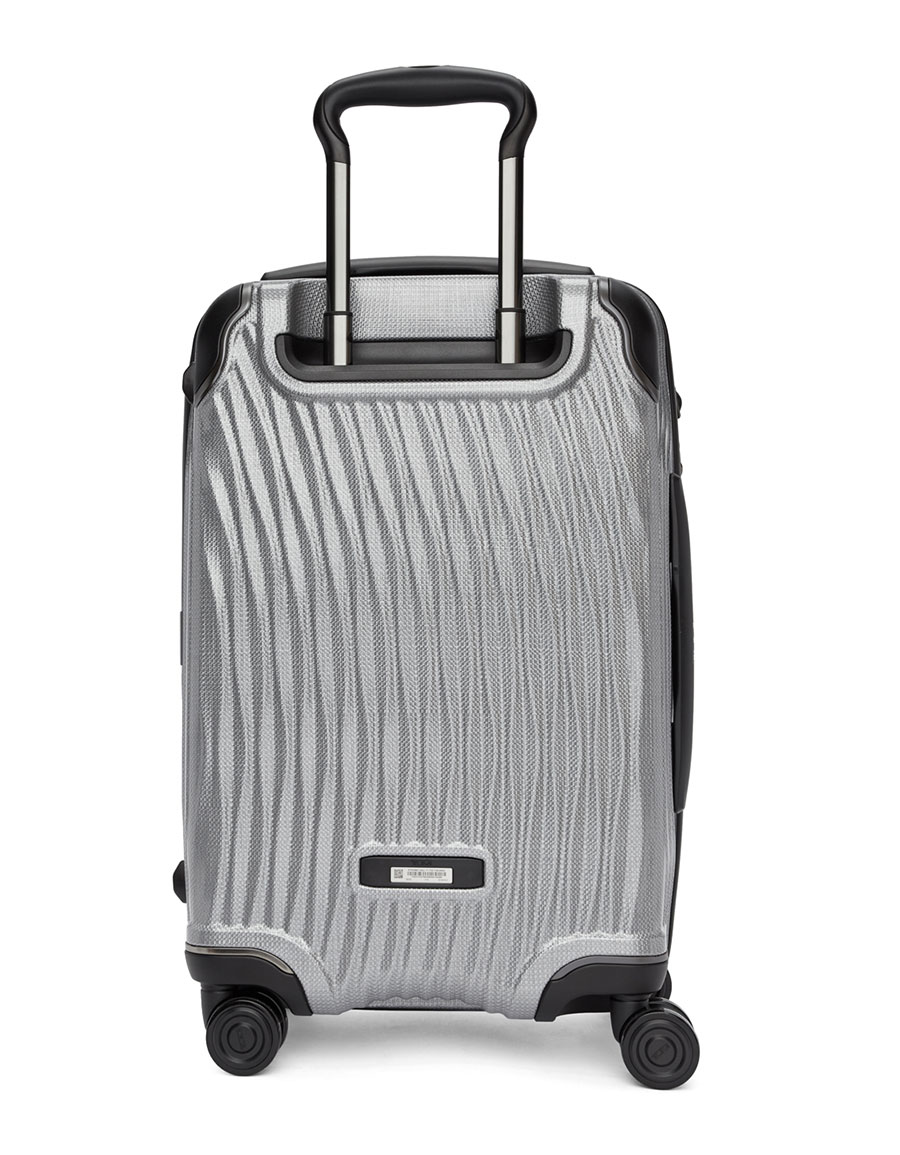 TUMI Silver International Carry On Suitcase