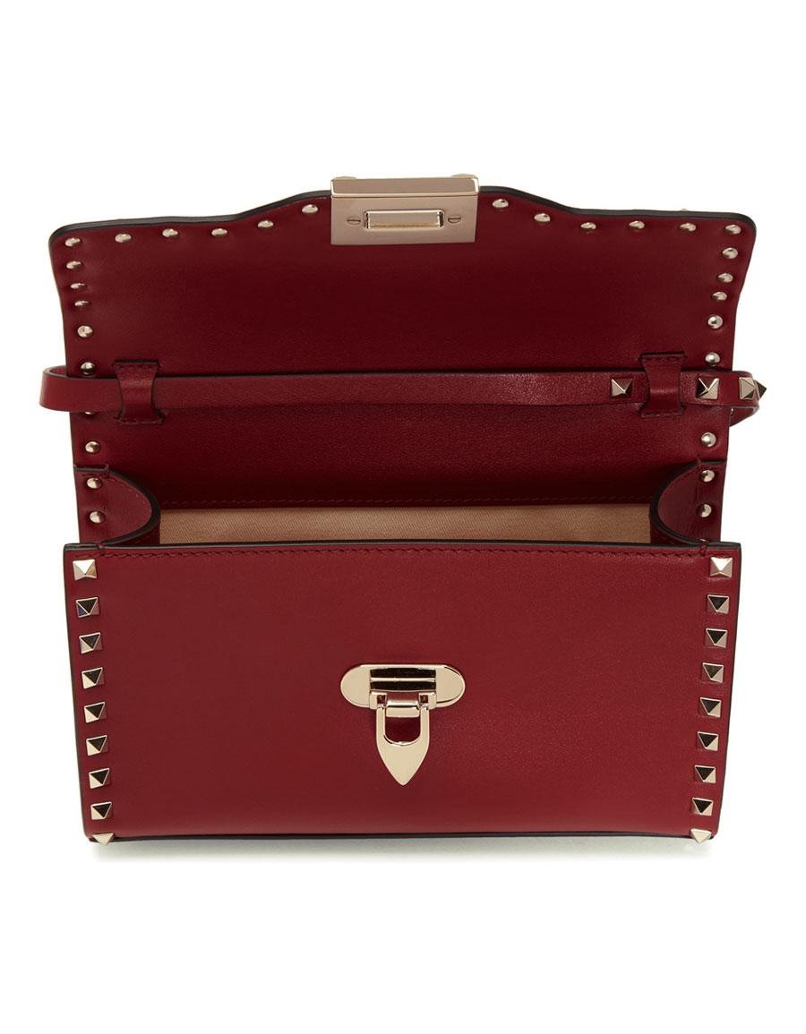 VALENTINO Red Valentino Garavani Medium Rockstud Flap Bag