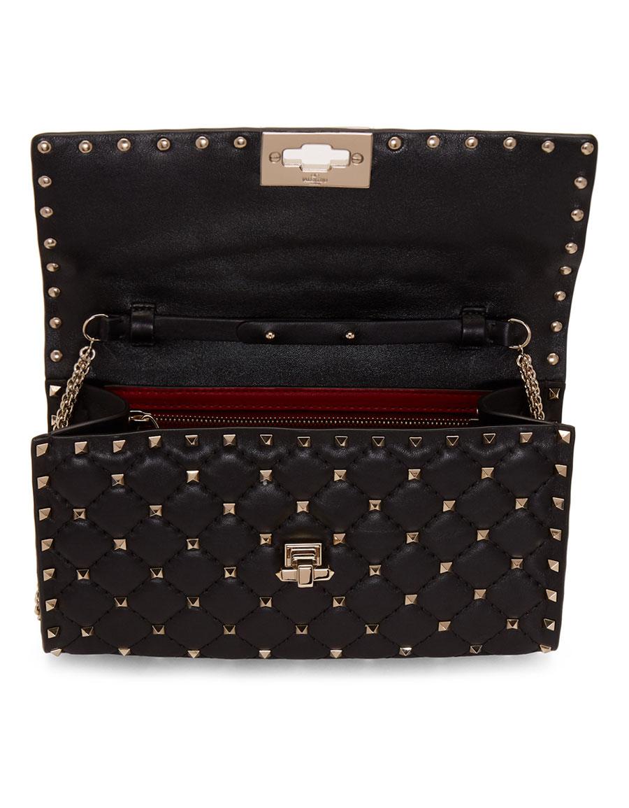 VALENTINO Black Valentino Garavani Rockstud Bag