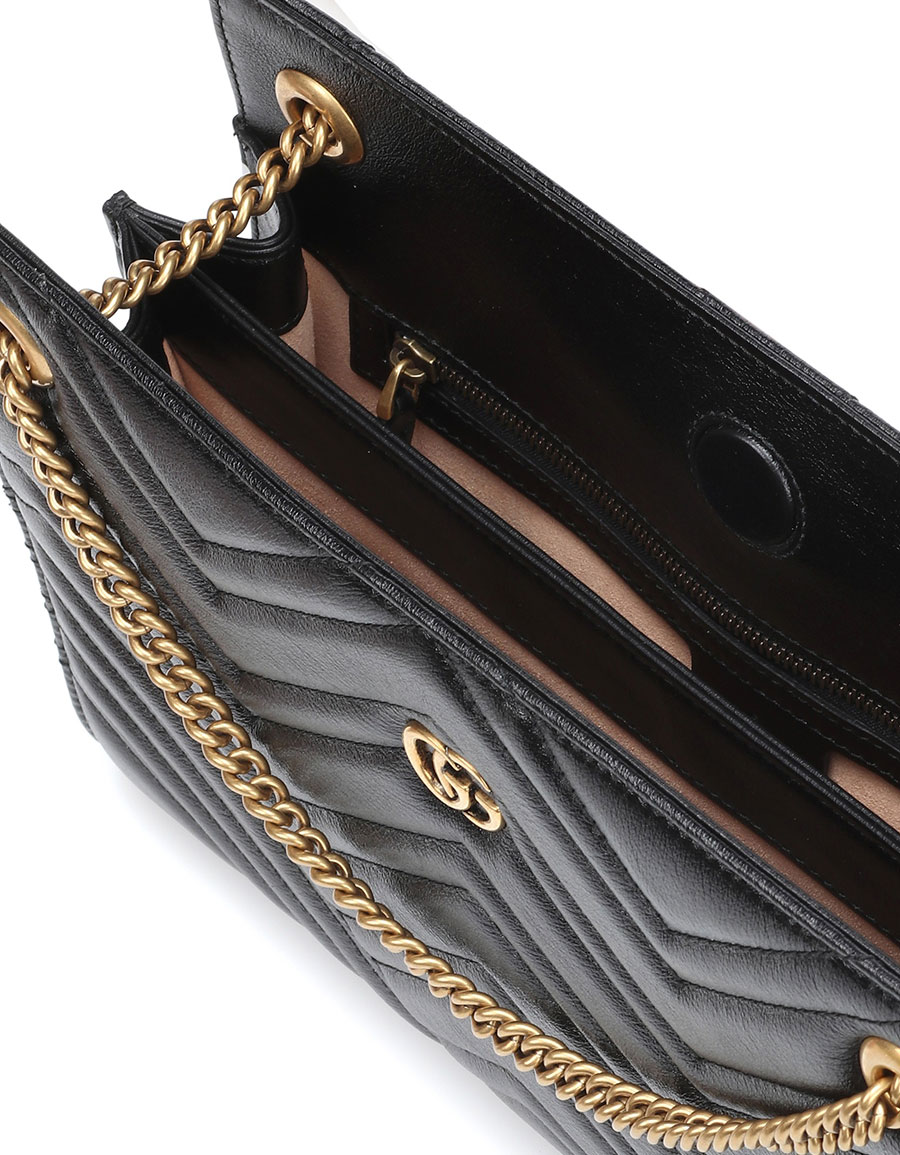 GUCCI GG quilted leather shoulder bag