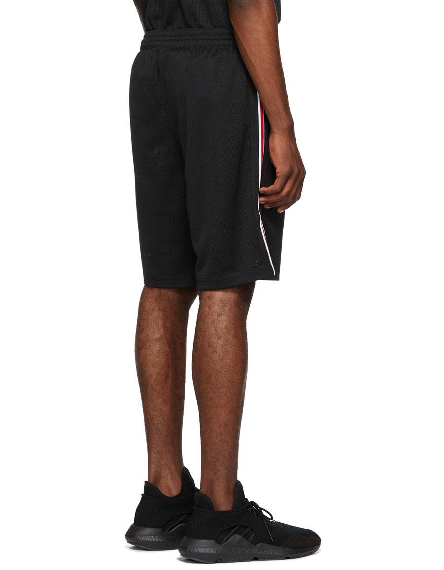 ALEXANDER WANG Black Jersey Sports Shorts