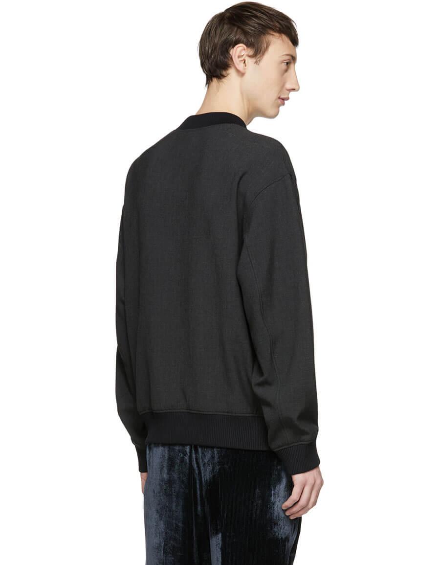 KENZO Grey Dragon Sweatshirt