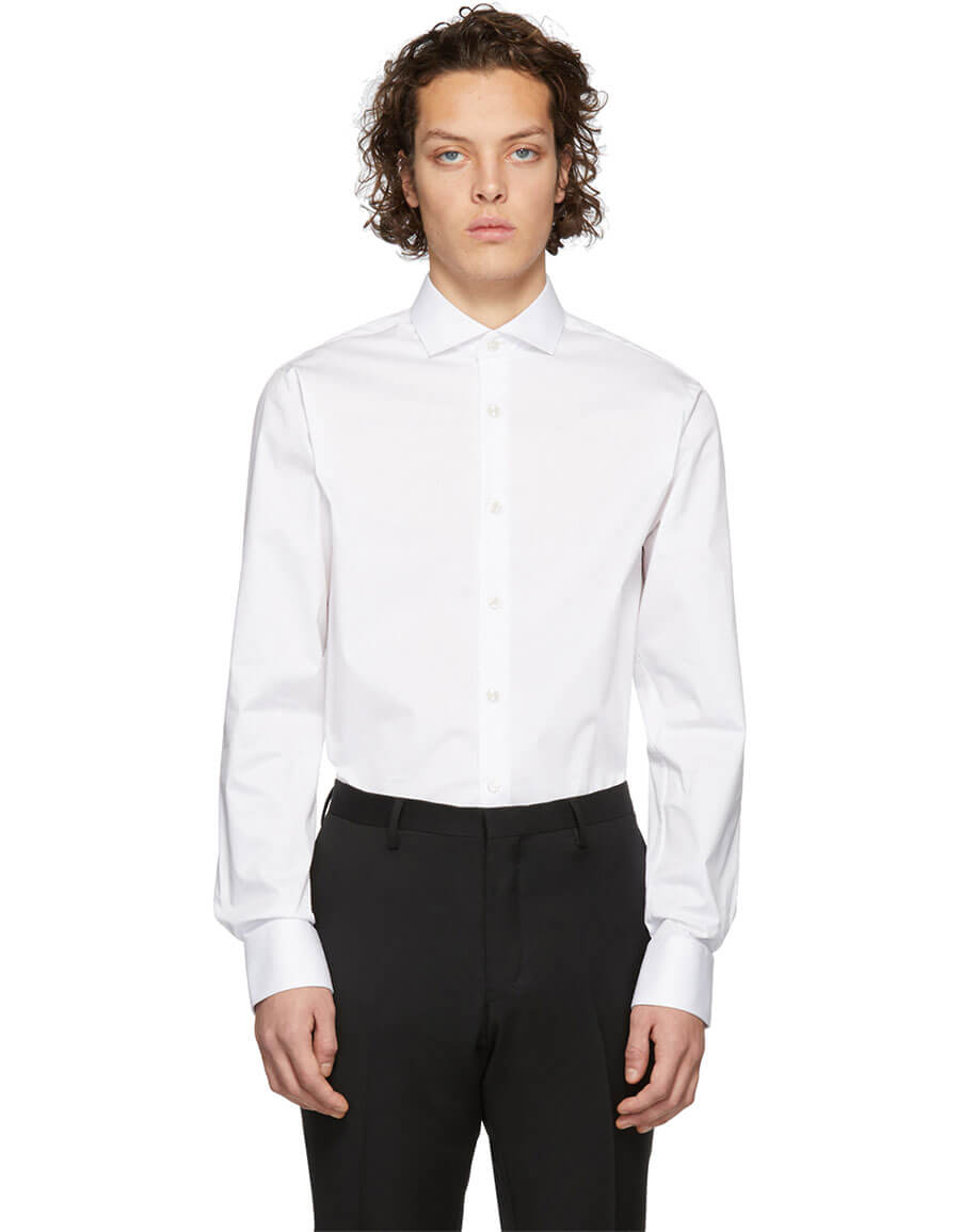 TIGER OF SWEDEN White Farrell 5 Shirt