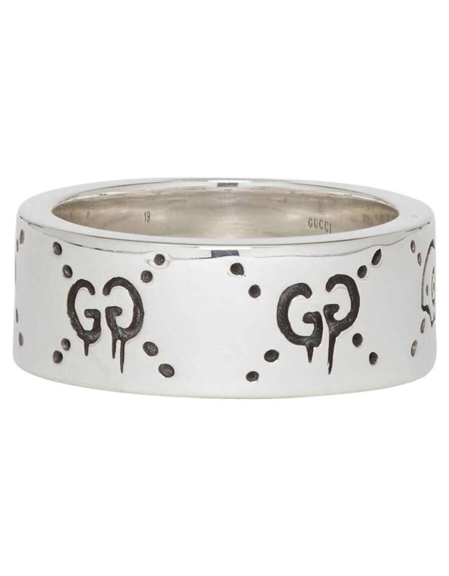 GUCCI Silver GucciGhost Ring