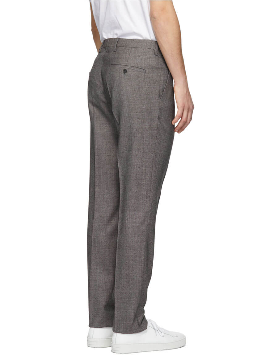 TIGER OF SWEDEN Brown Talthe Trousers