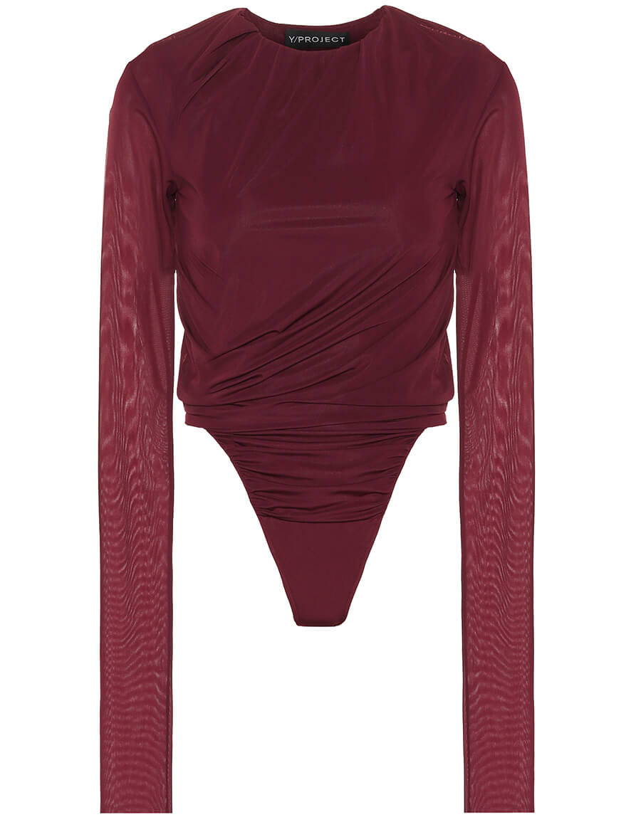 Y/PROJECT Ruched bodysuit