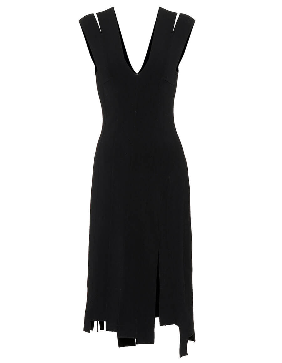 ALTUZARRA Asymmetric stretch jersey dress