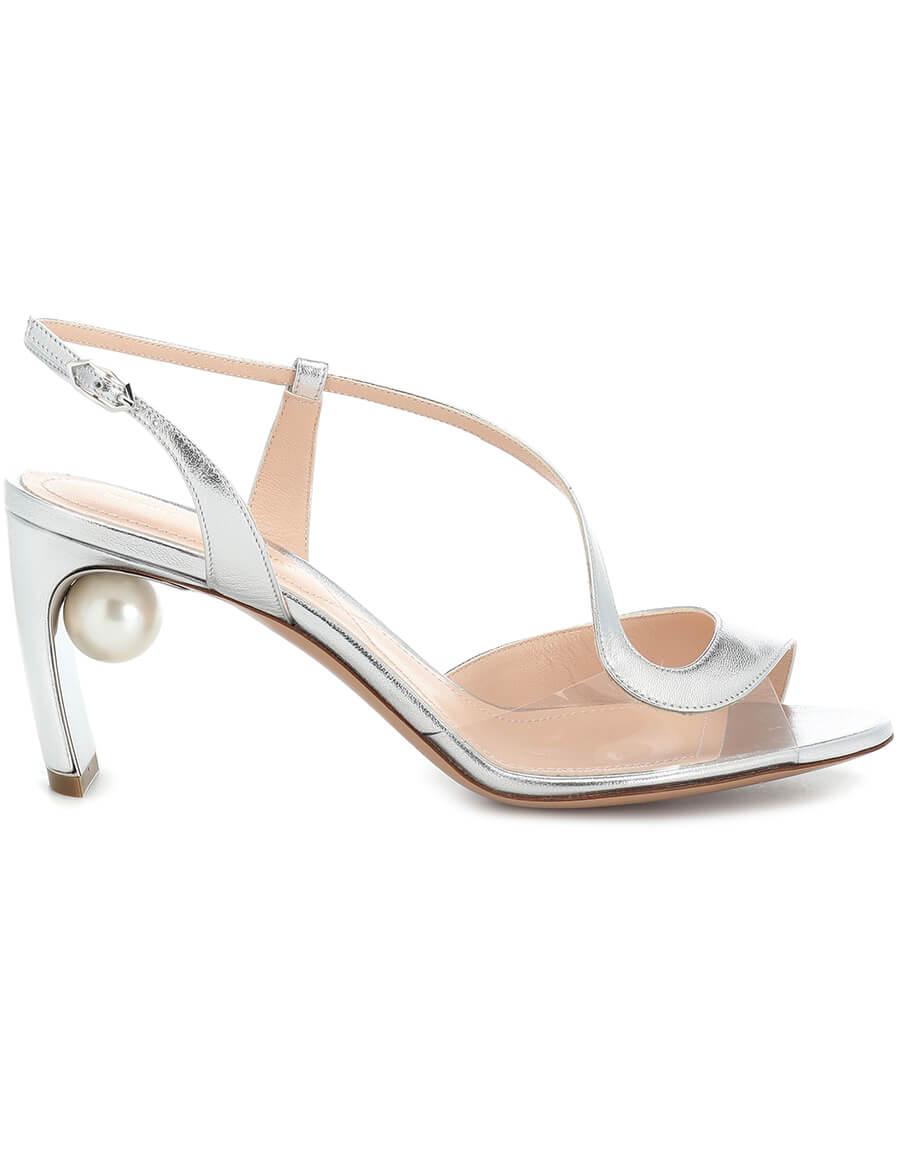 NICHOLAS KIRKWOOD Maeva Pearl 70mm leather sandals