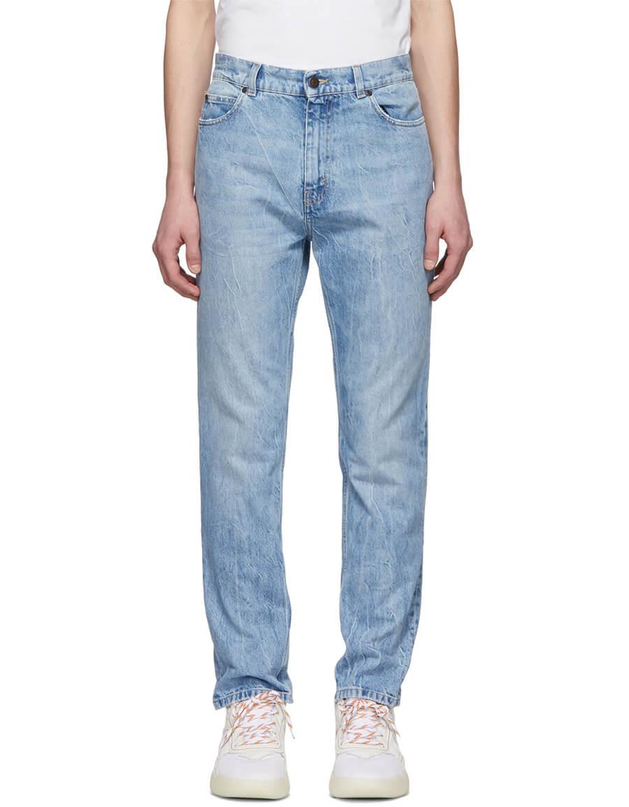 STELLA MCCARTNEY Blue Bleached Jeans