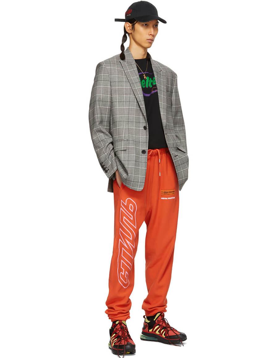 HERON PRESTON Orange 'Style' Lounge Pants
