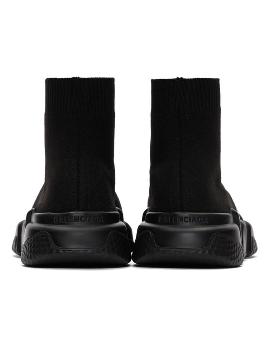 BALENCIAGA Black Speed Sneakers