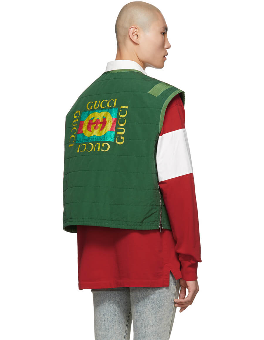 GUCCI Green Ring Vest