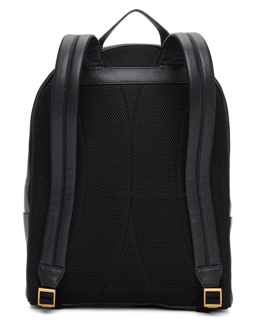 GUCCI Black Print Backpack