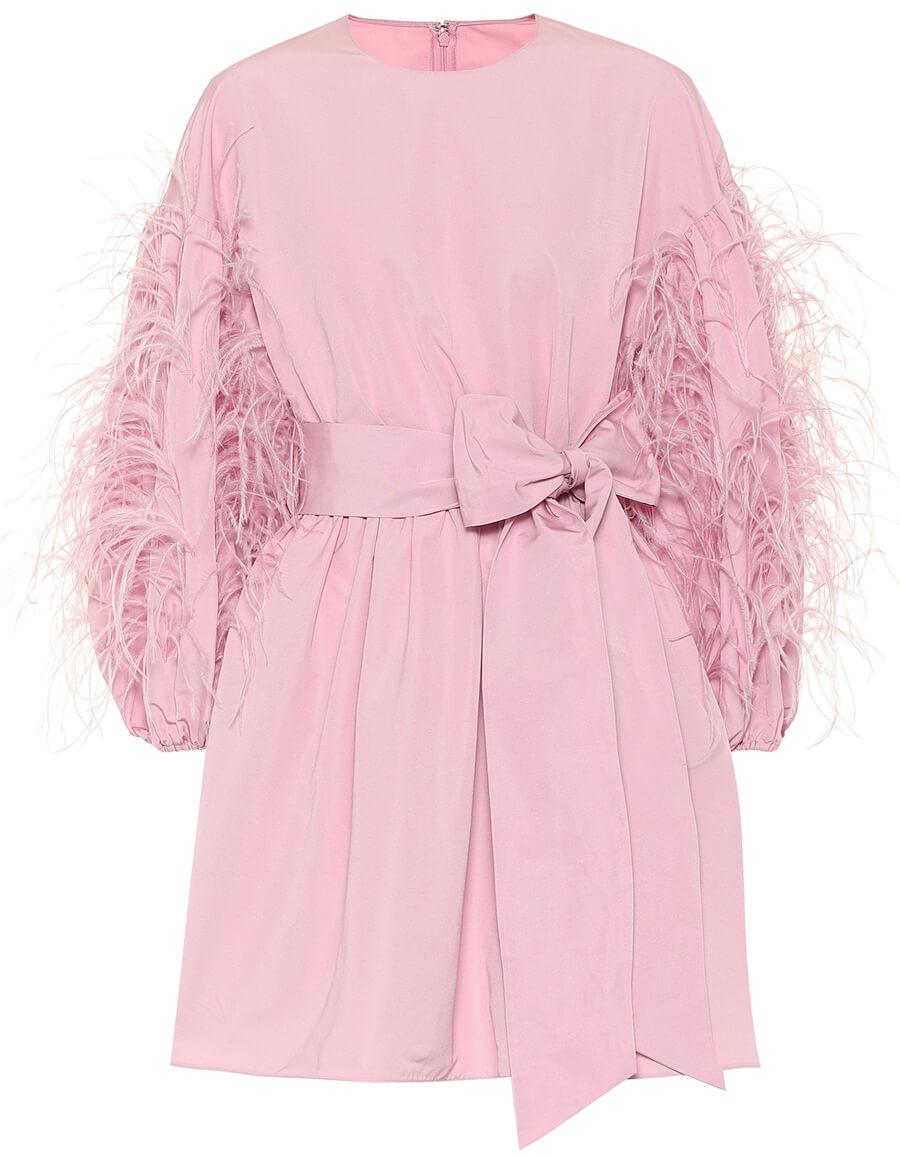 VALENTINO Cotton blend minidress