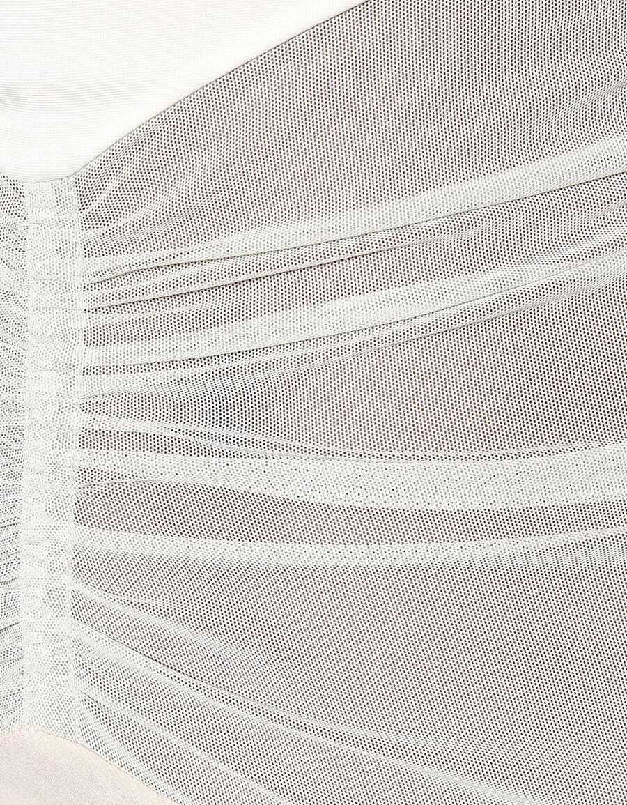 RICK OWENS Stretch satin gown