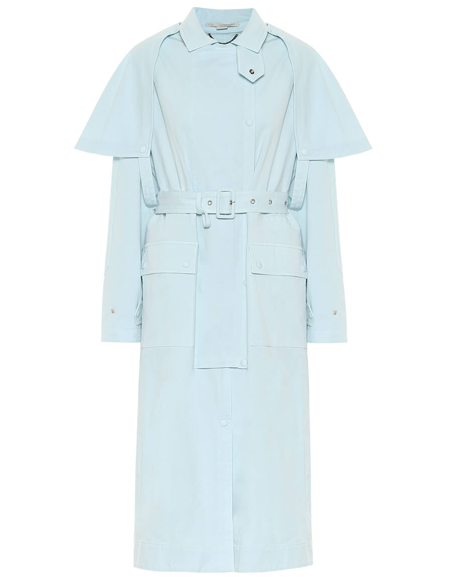 STELLA MCCARTNEY Stacey stretch cotton trench coat